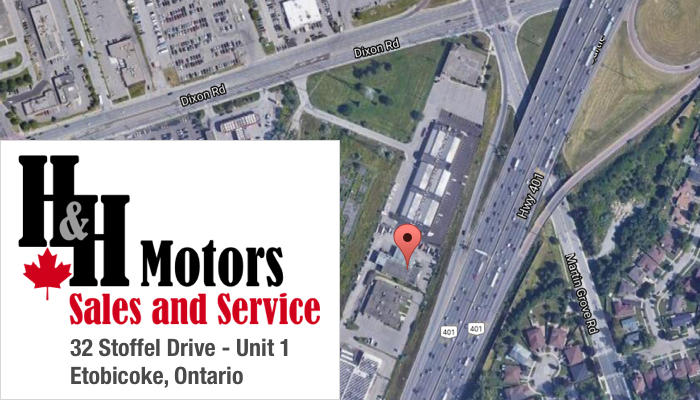 H&H Motors location on Stoffel Drive